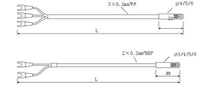电机线圈绕组用热电偶(阻)