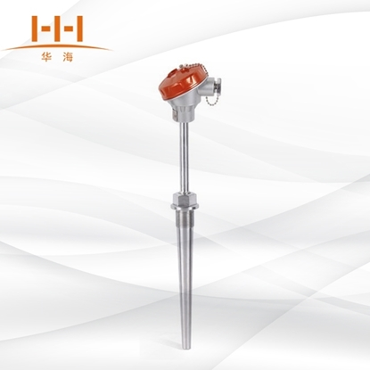 WRN-620/630固定螺纹锥形保护管装配式热电偶的图片